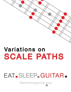 Eat Sleep Guitar Scale Paths